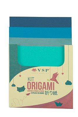 Papel para Origami Multicores 1 com 30 unidades
