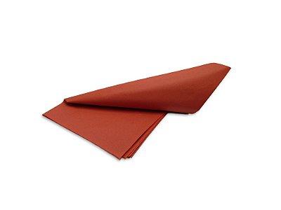 Papel de SEDA Vermelho formato 50x70cm para presente com 3 unidades