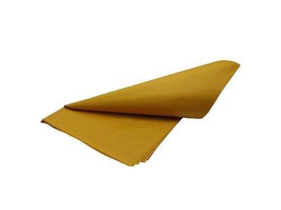 Papel de SEDA Amarelo formato 50x70cm para presente com 3 unidades