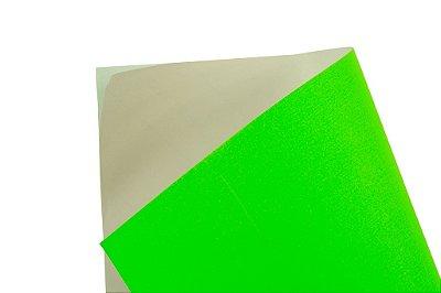 Papel Adesivo Fluor Green 30,5x30,5cm com 5 unidades