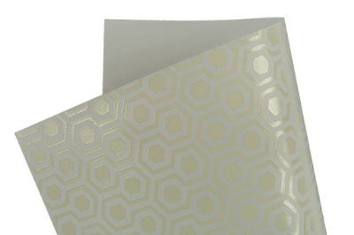 Papel SuperInk Milk Hexágono 30,5x30,5cm com 2 unidades