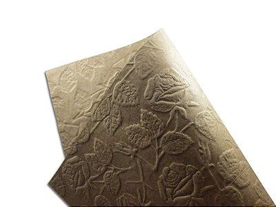Papel Tx Max Rosas Kraft 30,5x30,5cm com 5 unidades