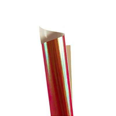 Papel Carnival Vermelho 30,5x30,5cm com 5 unidades