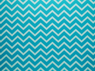 Papel Decor Chevron Blue - Branco 30,5x30,5cm com 5 unidades