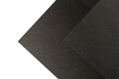 Papel Texture TX Leaves Preto 30,5x30,5cm com 5 unidades