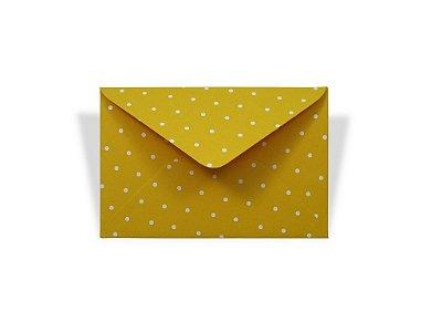 Envelopes visita Rio de Janeiro Decor Bolinhas Brancas - Lado Externo com 10 unidades