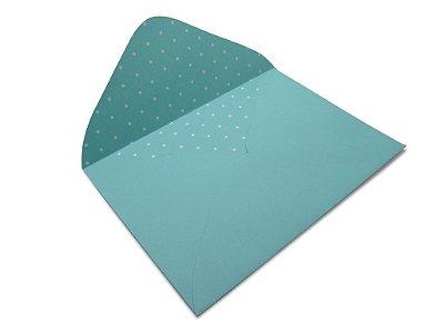 Envelopes carta Aruba Decor Bolinhas Branco - Lado Interno com 10 unidades