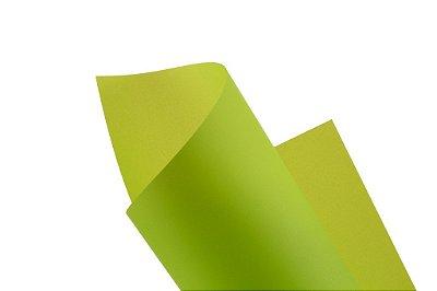 Papel vegetal Color Limão 30,5x30,5cm com 2 unidades