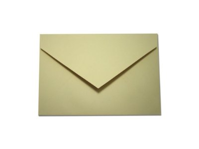 Envelopes convite Color Plus Sahara com 10 unidades