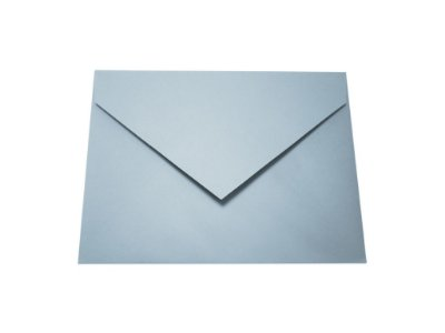 Envelopes convite Color Plus Azul Santorini com 10 unidades