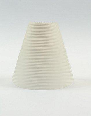 Cúpula de abajur em papel - Paper Lamp transparente decor Linhas