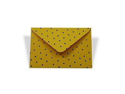Envelopes visita Rio de Janeiro Decor Bolinhas Pretas - Lado Externo com 10 unidades
