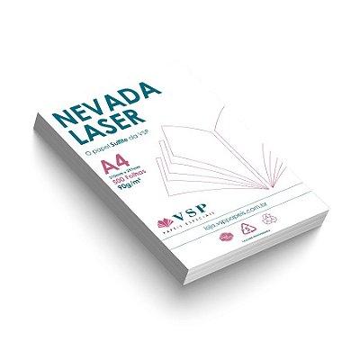 Papel Sulfite Nevada Laser 90g/m² - A4 com 500 folhas