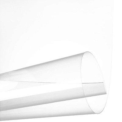 PVC Acetato Transparente 25 micras 30x30cm com 10 unidades