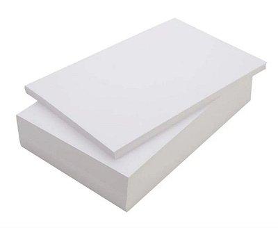 Papel Couchê Brilho 170g/m² - Formato 216x279mm com 125 folhas