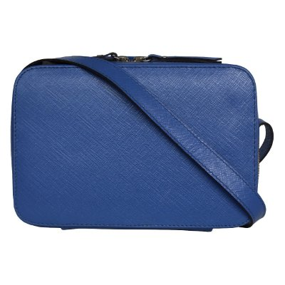 Kelly Bag Saffiano Azul