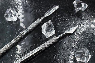 Espátula Staleks para cutícula - Série Expert 10 - Arredondada - Empurrador e Removedor - PE-10/2
