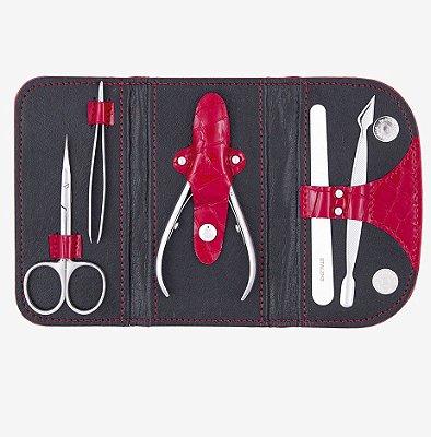 Estojo com Ferramentas para Manicure - Staleks - LADY - MS-02