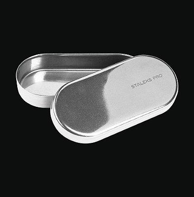 Estojo de Inox Staleks - Brocas - 90x40x15mm - LE-20-1
