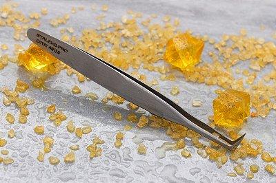 Pinça para Cílios Staleks - Série Expert 40 - Profissional L form 85 graus- TE-40-8