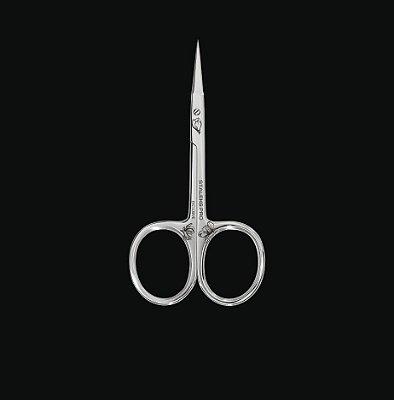 Tesoura de Cutícula STALEKS- Série Exclusive 10 - Lâmina Curva 23mm - SX-10-2