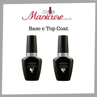 KIt Base Coat e Top Coat Cuccio