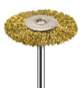 BROCA Escova de Polimento PM - AMERICAN BURRS-22mm - Aço Dourado - MSHC78C-N