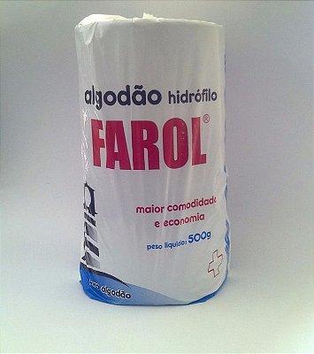algodão hidrofilo farol 500g