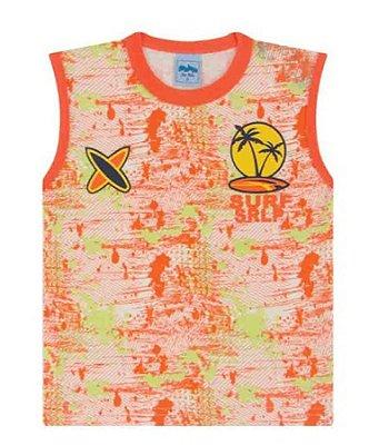 Camiseta Regata Bebê Surf