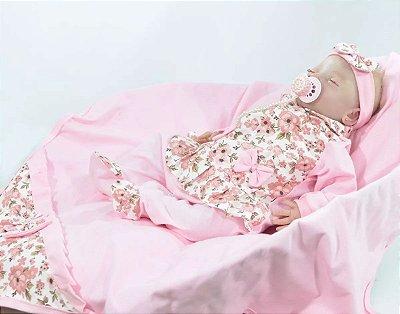 Saída de Maternidade Floral - várias cores