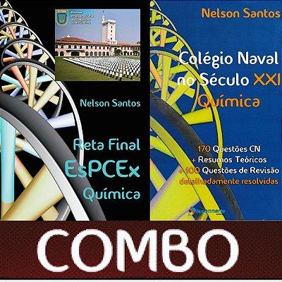 COMBO - Colégio Naval no Século XXI – Química + Reta Final – EsPCEx – Química