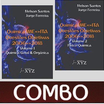 COMBO: Química IME-ITA Questões objetivas 2006-2018