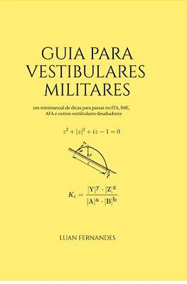 Guia Para Vestibulares Militares