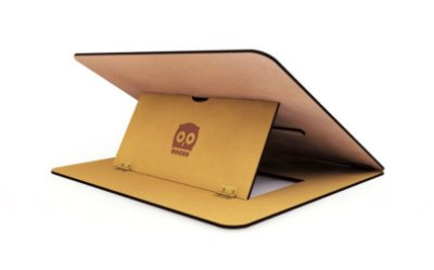 Slim Studio A2 Mocho Envernizada - prancheta de desenho portátil inclinável