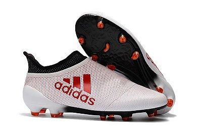 48deec57d0762 Chuteira Adidas X 17+ PureChaos FG
