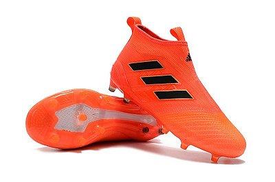 Chuteira Adidas Ace 17+ PureControl FG - Sem Cadarço f8116c1c694ac