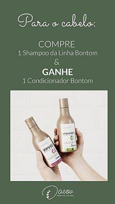 Shampoo Bontom Óleo de Coco 300 mL Cabelos Crespos Ondulados Cacheados- SUPER PROMOÇÃO 2 PRODUTOS PELO PREÇO DE 1