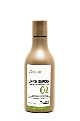 Condicionador Bontom Óleo de Coco 300 mL Cabelos Crespos e Cacheados