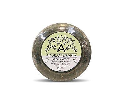 Sabonete De Argila Verde Peles Mistas E Oleosas 110g