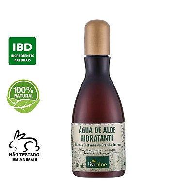 Água de Aloe Hidratante Natural com Óleo de Castanha do Brasil 210ml – Livealoe