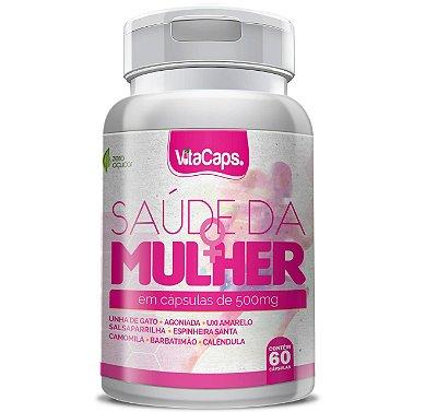 Saúde da Mulher 60 cápsulas - Vita Caps