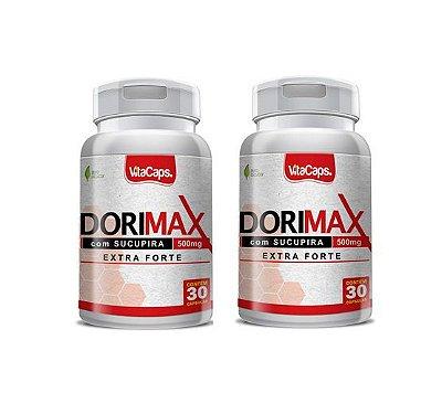 Kit 2 Dorimax 120 cápsulas 500mg Extra Forte
