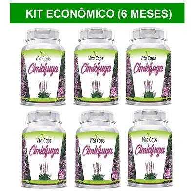 KIT ECONÔMICO 6 Cimicífuga 360 cápsulas (6 meses de tratamento)