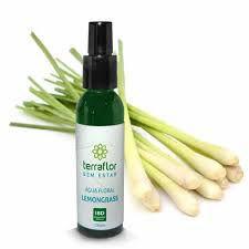 """Água Floral de Lemongrass """"Capim - Limão"""" Natural 120ml - Terraflor"""