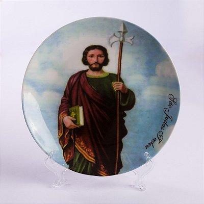 Prato Decorativo São Judas