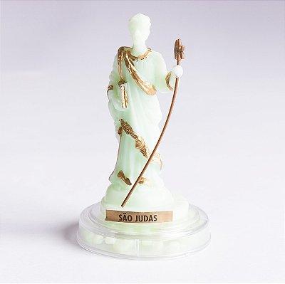 Imagem de São Judas Tadeu - Plástico com Terço