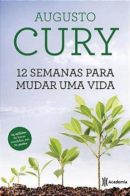 Livro 12 Semanas Para Mudar Uma Vida - Augusto Cury