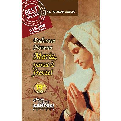 Livro Poderosa Novena - Maria Passa A Frente - Pe. Márlon Múcio