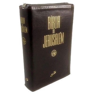 Bíblia de Jerusalém - Média Zíper