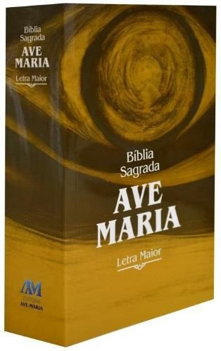 Bíblia Sagrada Ave-Maria - Letra Maior - Brochura